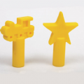 Chew Pencil Toppers Star and Train Pack of 2,Chew Pencil Toppers Pack of 2,Special needs pencil toppers,childrens pencil toppers,autism pencil topper